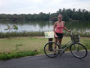 Bike ride in Bang Krachao