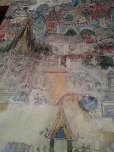 Fresco in Vat Sisaket