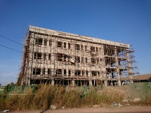 Laosian scaffolding