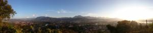 View from Mount Phousi over Luang Prabang
