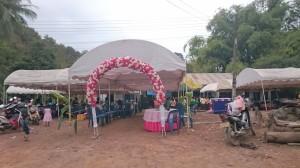 Laosian wedding