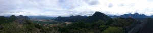 Panorama from Phangern Mountain