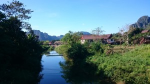 Morning in Vang Vieng