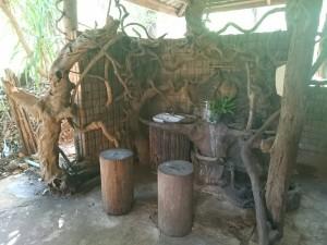 Natural style lavatory