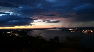 Night view at Pakse