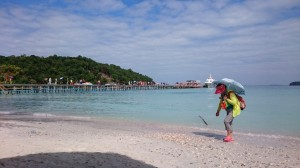 Chinese invasion on Koh Rong Samloem