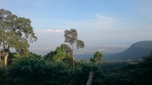 Kampot from Elephant Mountains