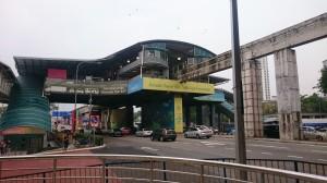 Metro station Titiwangsa