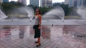 At KLCC park