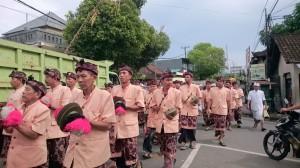 The parade in Culik