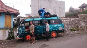 The minibus :-D