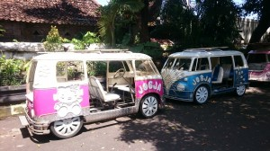Jogja hello kitty transport :-D